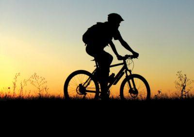 Biker-in-the-Evening